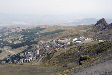 joa: View of Sierra Nevada in summer