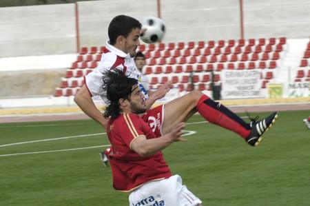 20090301- Granada-Spain-Football game between the Granada 74 and Roquetas