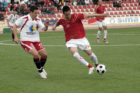 20090301- Granada-Spain-Football game between the Granada 74 and Roquetas Editorial