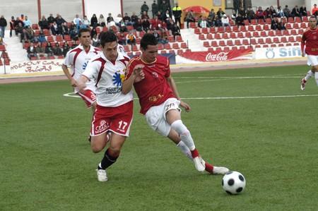 2009/03/01- Granada-Spain-Football game between the Granada 74 and Roquetas Stock Photo - 7602981