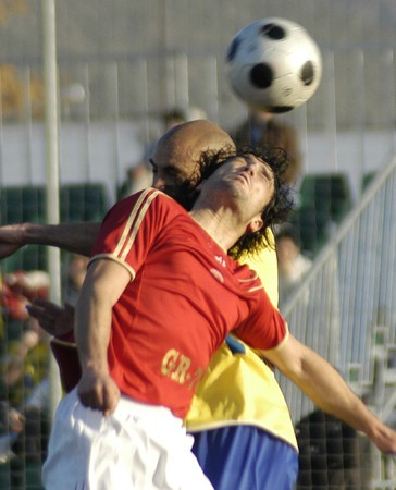 2009/01/18- Granada-Spain-Football game between the Granada 74 and Cadiz Stock Photo - 7602990