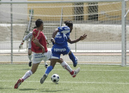 20090412- Granada-Spain-Football game between the Granada 74 and Ceuta