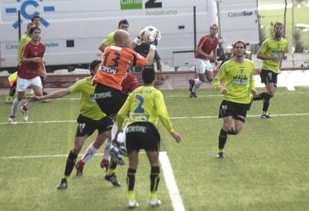 20090131- Granada-Spain-Football game between the Granada 74 and Polideportivo Ejido Editorial