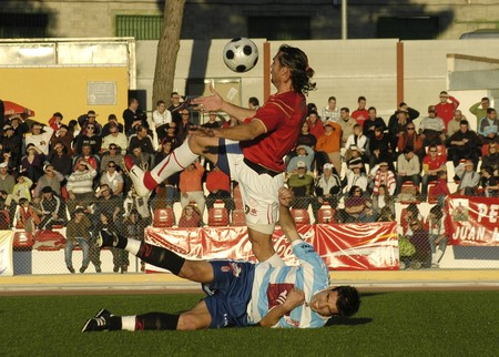 20081221- Granada-Spain-Football game between the Granada 74 and the Granada CF