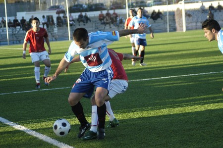 2008/12/21- Granada-Spain-Football game between the Granada 74 and the Granada CF Stock Photo - 7603034