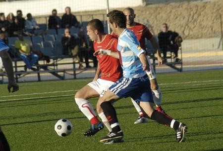 2008/12/21- Granada-Spain-Football game between the Granada 74 and the Granada CF Stock Photo - 7603036