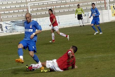 2008/12/07- Granada-Spain-Football game between Granada 74 and Puertollano Stock Photo - 7603041
