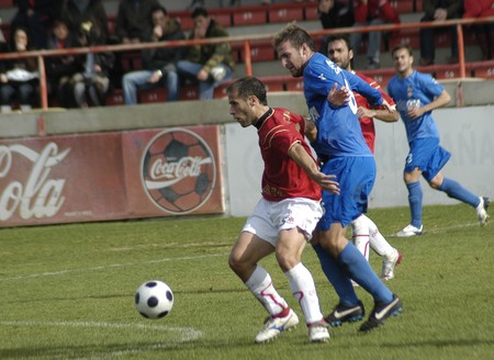 2008/12/07- Granada-Spain-Football game between Granada 74 and Puertollano Stock Photo - 7603043