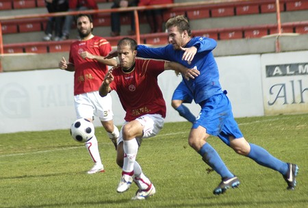 20081207- Granada-Spain-Football game between Granada 74 and Puertollano