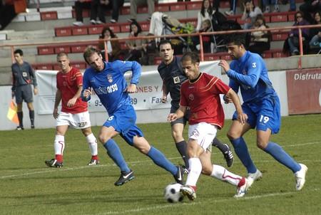 2008/12/07- Granada-Spain-Football game between Granada 74 and Puertollano Stock Photo - 7603047