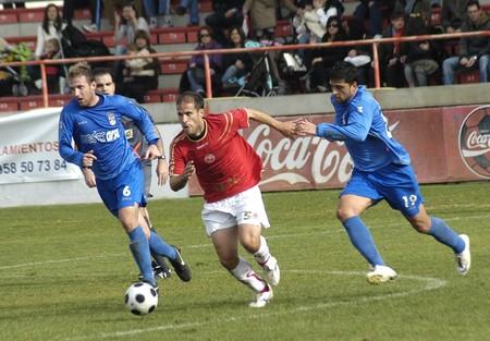 2008/12/07- Granada-Spain-Football game between Granada 74 and Puertollano Stock Photo - 7603048