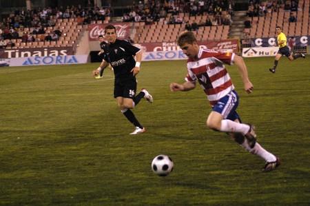 2009/03/25- Granada-Spain-Football game between the Granada CFand Marbella Stock Photo - 7603050