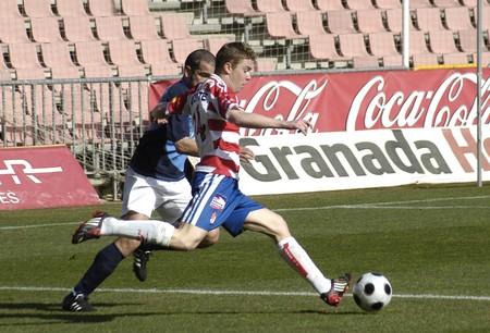 2009/01/25- Granada-Spain-Football game between the Granada CF and Melilla Stock Photo - 7603078