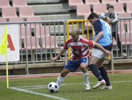 2009/01/25- Granada-Spain-Football game between the Granada CF and Melilla Stock Photo - 7603087