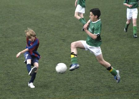 20090328- Granada-Spain-Football game between the Vandalia Alevín A against Atletico Darro, where the Vandalia was proclaimed league champion just four days.
