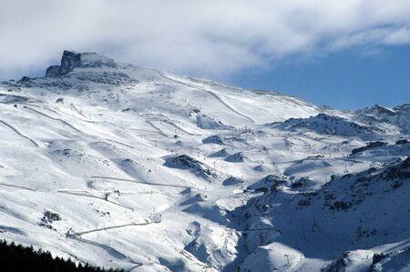 view of sierra nevada Stock Photo - 9677116