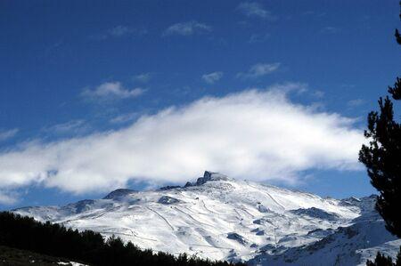 view of sierra nevada Stock Photo - 9677080