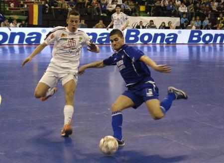 futsal: 20090226 - Granada - Spain - Final Phase Cup Championship of Spain of futsal in the sports hall of Granada Editorial