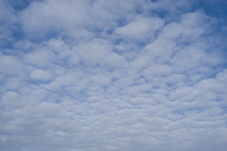 fuga: background of clouds against a blue sky