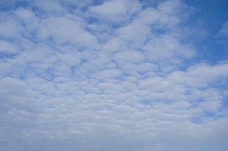 background of clouds against a blue sky Stock Photo - 7653880