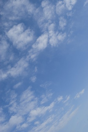 background of clouds against a blue sky Stock Photo - 7653883