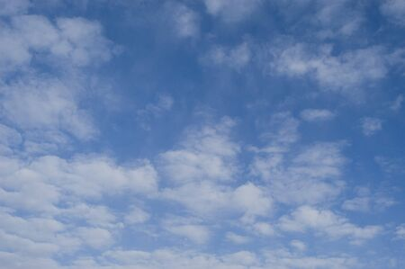 background of clouds against a blue sky Stock Photo - 7653889