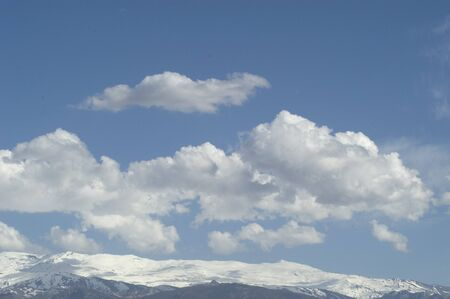 fuga: Sierra Nevada with clouds