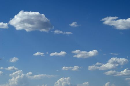 climatology: Clouds Stock Photo