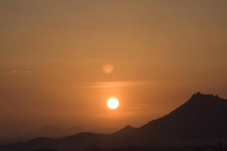 Sunset in Sierra Elvira photo