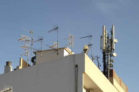 Different antennas photo
