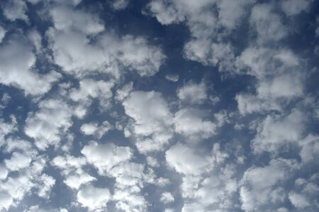 fuga: blue sky with white clouds