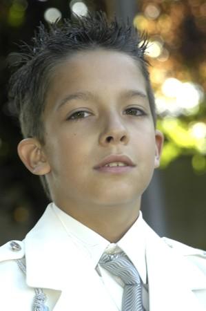 10 year old boy photo