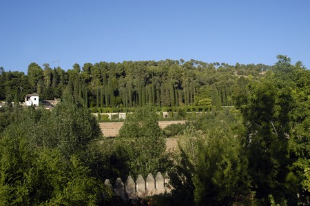 Granada Generalife Gardens                     photo