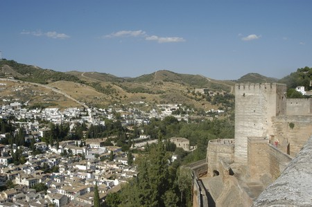 View of the city of Granada