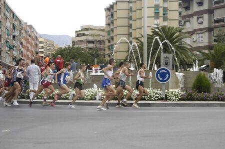 2009/09/20- Motril, Granada, Spain-Marathon Race International Media Motril, Granada Province Stock Photo - 7959917