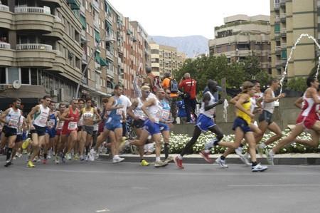 2009/09/20- Motril, Granada, Spain-Marathon Race International Media Motril, Granada Province Stock Photo - 7960115