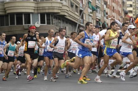 2009/09/20-Motril, Granada, España-Maratón Internacional carrera de Media Motril, provincia de Granada  Foto de archivo - 7960117