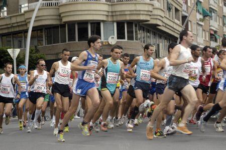 2009/09/20- Motril, Granada, Spain-Marathon Race International Media Motril, Granada Province Stock Photo - 7960118