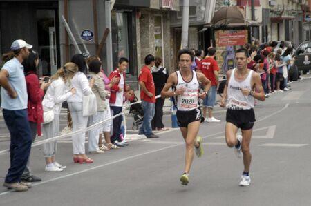 2009/09/20- Motril, Granada, Spain-Marathon Race International Media Motril, Granada Province Stock Photo - 7960134