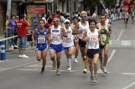 2009/09/20- Motril, Granada, Spain-Marathon Race International Media Motril, Granada Province Stock Photo - 7960137