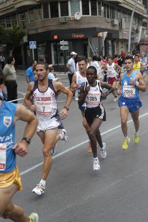 2009/09/20- Motril, Granada, Spain-Marathon Race International Media Motril, Granada Province Stock Photo - 7959939