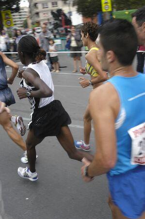 2009/09/20- Motril, Granada, Spain-Marathon Race International Media Motril, Granada Province Stock Photo - 7959943
