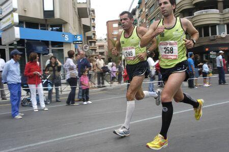 2009/09/20- Motril, Granada, Spain-Marathon Race International Media Motril, Granada Province Stock Photo - 7959949