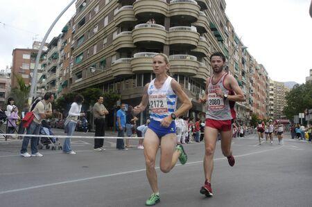 2009/09/20- Motril, Granada, Spain-Marathon Race International Media Motril, Granada Province Stock Photo - 7959950