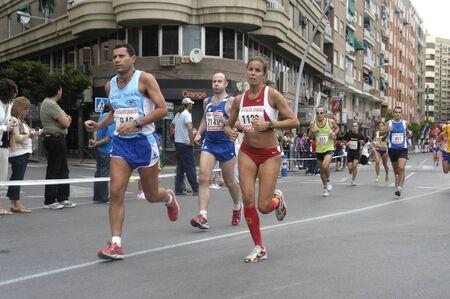 2009/09/20- Motril, Granada, Spain-Marathon Race International Media Motril, Granada Province Stock Photo - 7960181