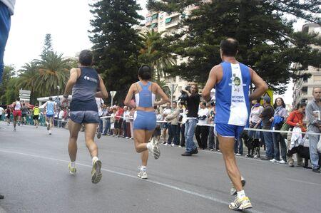 2009/09/20- Motril, Granada, Spain-Marathon Race International Media Motril, Granada Province Stock Photo - 7960193