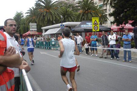 2009/09/20- Motril, Granada, Spain-Marathon Race International Media Motril, Granada Province Stock Photo - 7960195