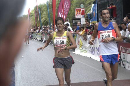 2009/09/20- Motril, Granada, Spain-Marathon Race International Media Motril, Granada Province Stock Photo - 7960209