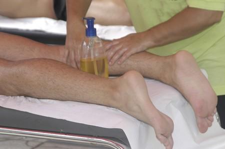 Physiotherapy Massage Stock Photo - 7995301