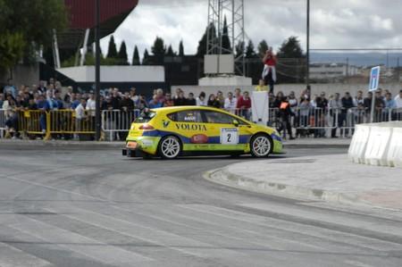 stock vista: 20101210 - Granada - Spain - Display with racing car racing cars of various categories in Granada Editorial